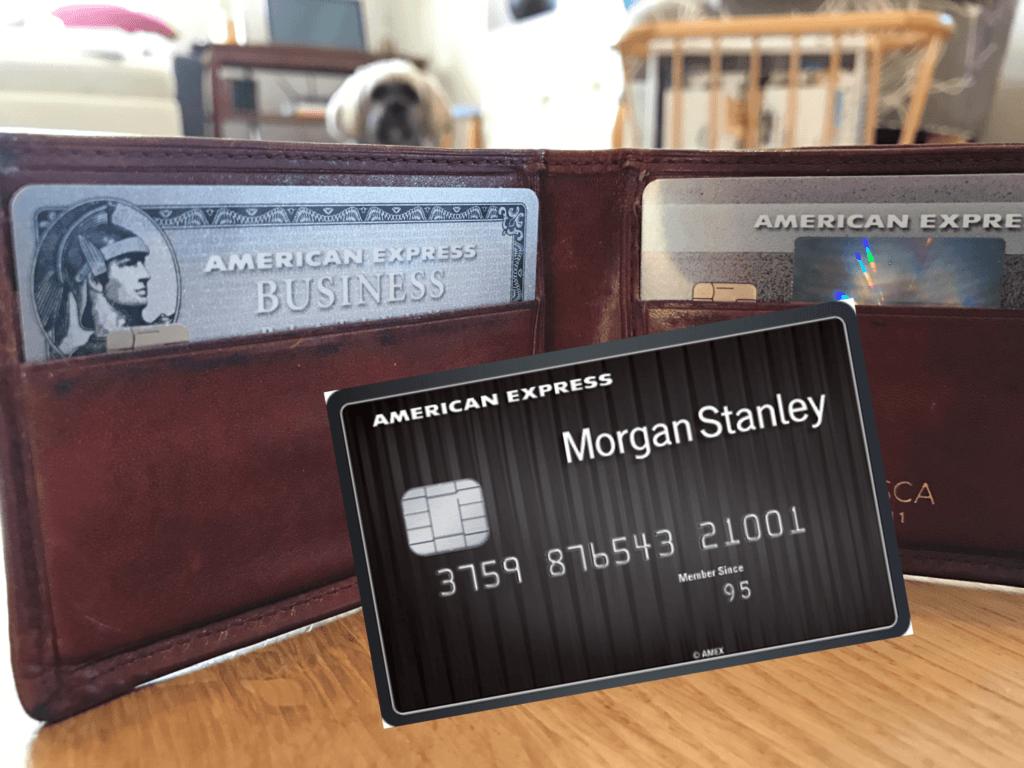 American Express Platinum Card for Morgan Stanley Rewards