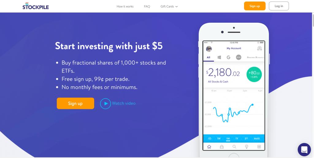 Stockpile Investing