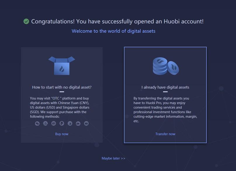 Huobi Account Signup