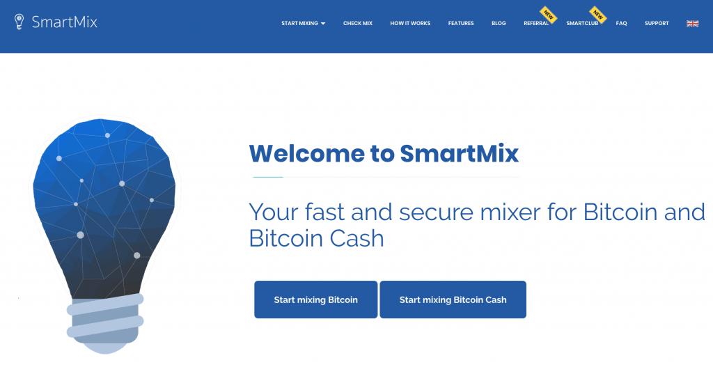 SmartMix Bitcoin Mixer