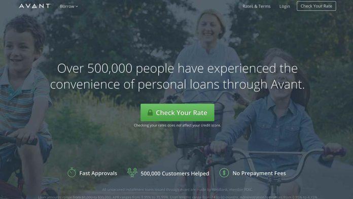 Avant Loans Review 2020