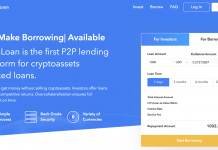 Coinloan CryptoCurrency Lending Platform 1