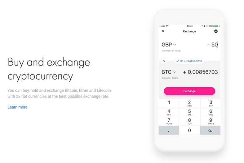 Cryptocurrency Exchange at Revolut