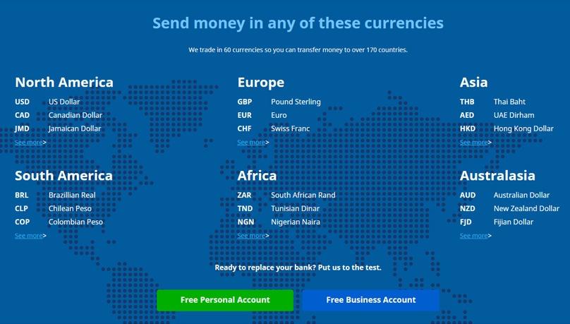 Ease of Use Globally XE Money Transfer