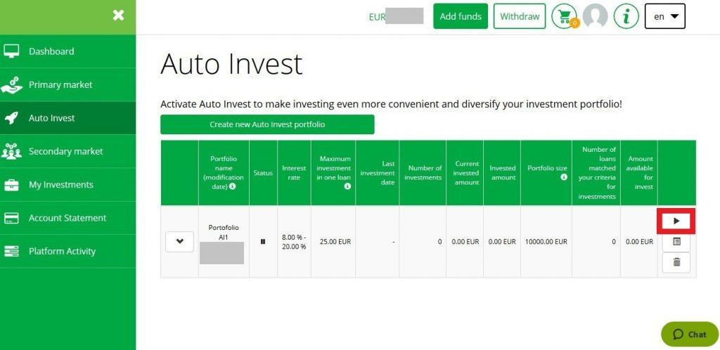 Iuvo Group Auto Invest Start