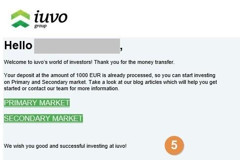 Iuvo Group Deposits Step 5