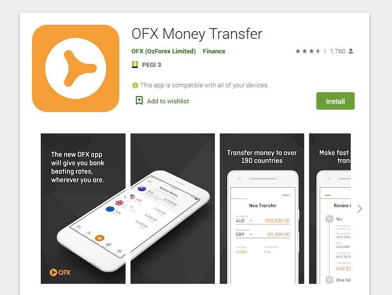 OFX Mobile App