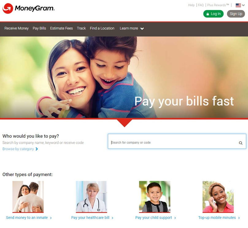 Pay Bills with MG