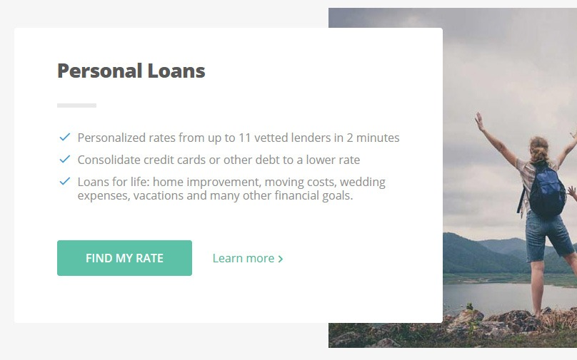 Personal Loans Online by Credible