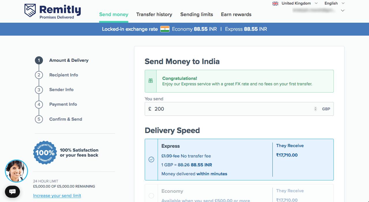 Send And Transfer Money Worldwide