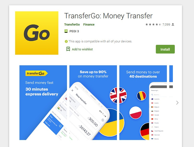 TransferGo Mobile App Review