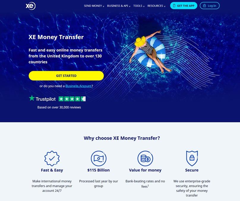 XE Money Transfer Review Send Money Internationally