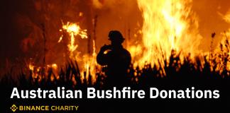 Binance Charity Project Donates USD 1 Million to Australian Bushfire Cause