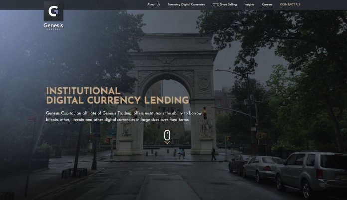 Genesis Crypto Lending Firm Hits New Record in Loan Originations