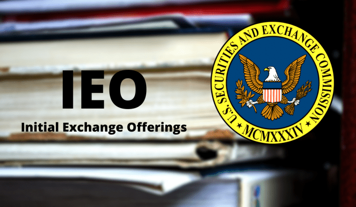 Initial Exchange Offerings SEC Issues Alert Against IEOs