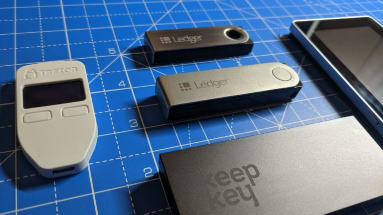 The Ledger Nano X may be hefty but it is comparable to other wallets