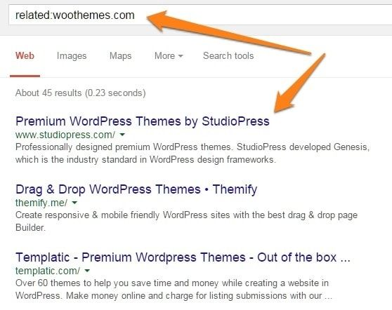 Use Google To Find Related Offers