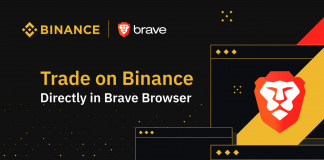 Brave Partners With Binance to Develop In Browser Crypto Trading