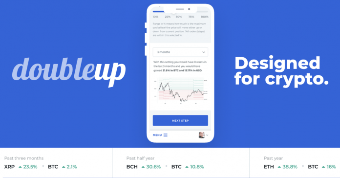 DoubleUp Beating the market — how to harvest the volatily of crypto currencies 2020