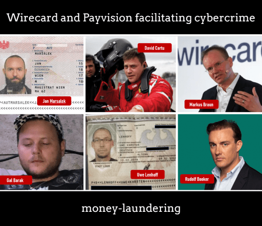 Wirecard Scam Wirecard Fraud Was Run By a Criminals – What about Payvision Money Laundering