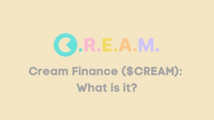 CREAM Finance CREAM The project began with a vision to establish a financial system more accessible than its traditional counterparts