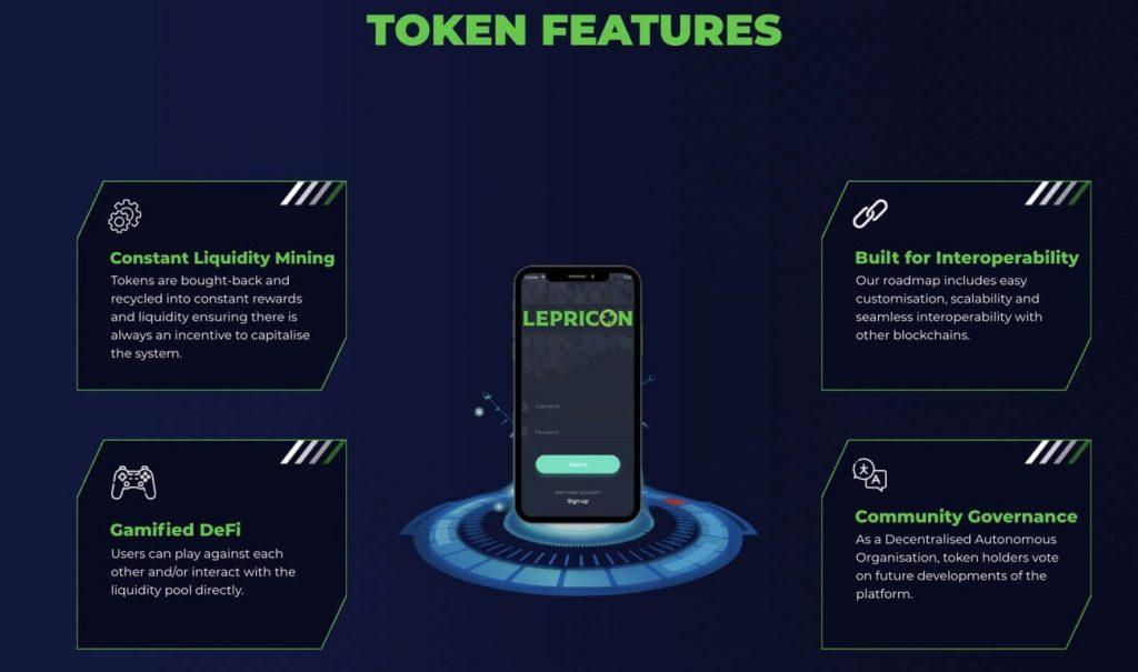 L3P Lepricon token features