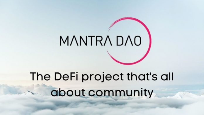 Mantra DAO OM takes decentralized finances DeFi innovation of financial networks were users voices are heard one step further