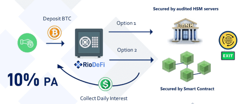 RioDeFi Savings Account