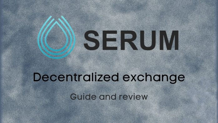 Serum is a decentralised cryptocurrency exchange DEX. They are run by the Serum Foundation made up of people with vast experiences in DeFi
