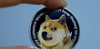 Dogecoin is back in the green after a short lived consolidation period