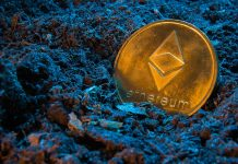 The price of ETH has outperformed BTC throughout all of April