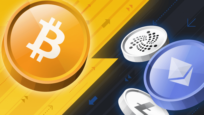 Altcoins and Bitcoin struggle to keep up