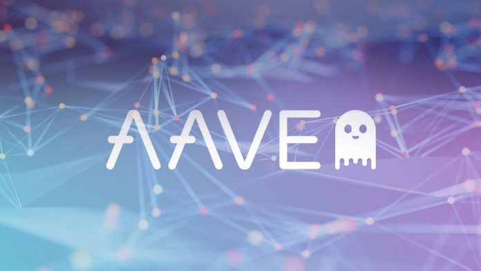 Aave cryptocurrency keeps growing