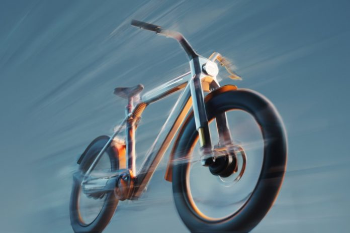 VanMoof has announced its first high speed electric bike e bike the VanMoof V which has the capability of reaching a 60km per hour 37mph top speed